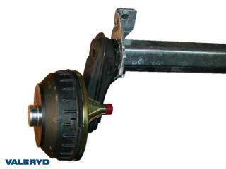 Axel AL-KO 200x50/1000kg/1200mm/1650mm/4x100 - inkl. frakt
