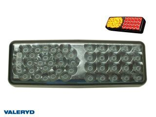 LED Baklampa Hö/Vä 70x200x40 12-24V, CC=90mm, med 90cm kabel 4-phase