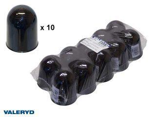 Kulskydd 50mm plast svart (10-pack)