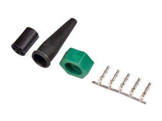 Bajonettkontakt Aspöck/Fristom 6-pol höger/grön, invändig låsning